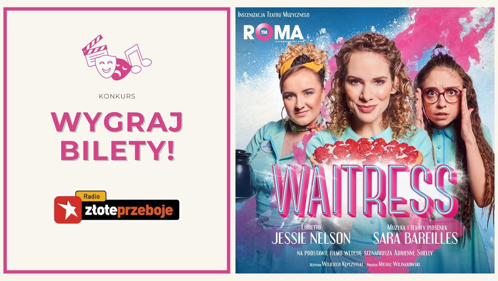 Wygraj bilety na spektakl 'Waitress' w Teatrze Muzycznym Roma w Warszawie!