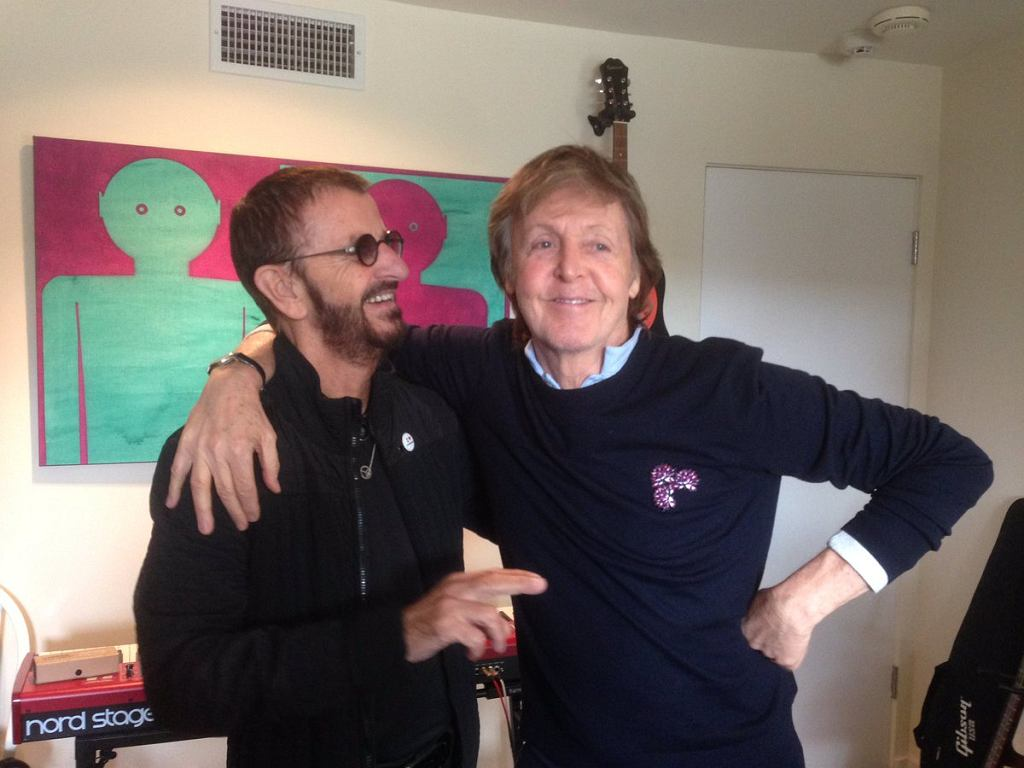 Paul McCartney i Ringo Starr