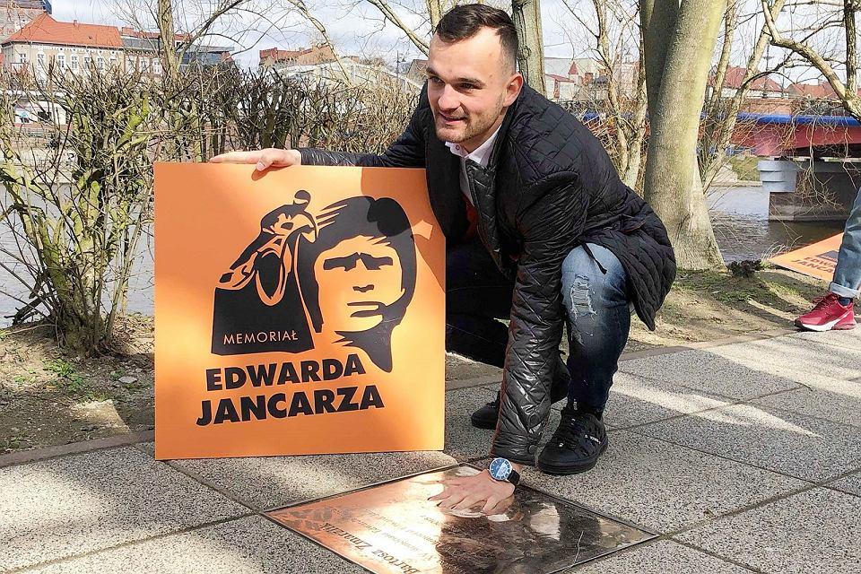Tablice zwycięzców Memoriału Edwarda Jancarza