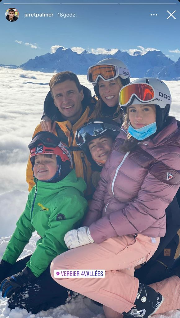Zuzanna Pactwa z rodziną Jarka Bieniuka