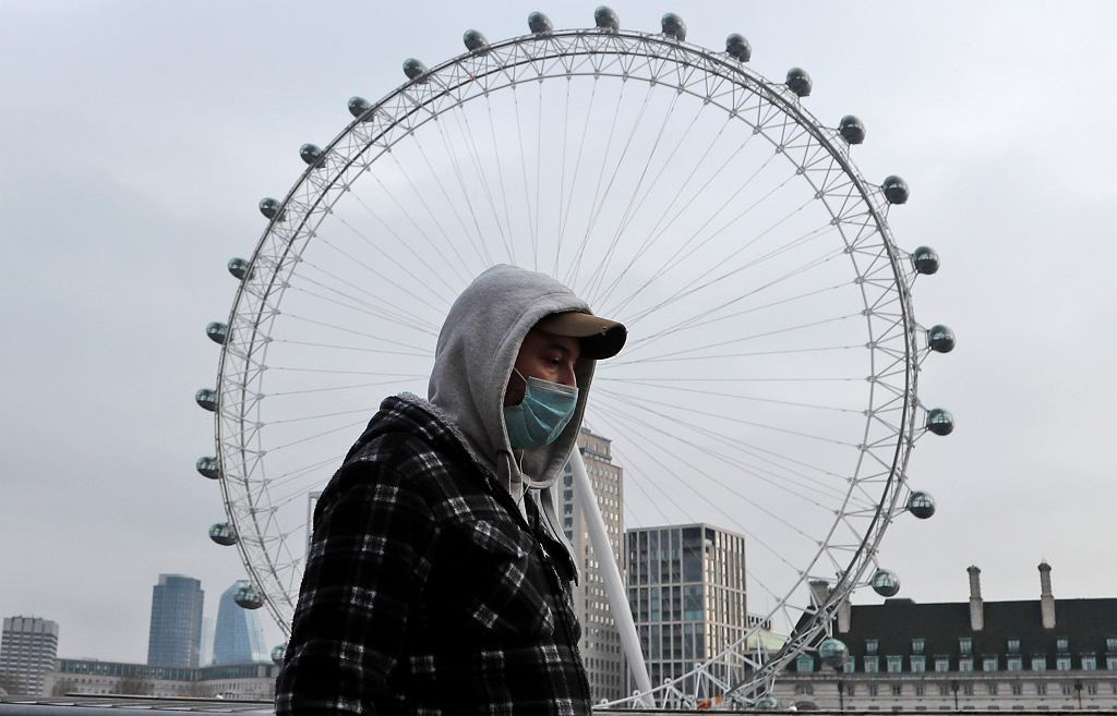 APTOPIX Virus Outbreak Britain