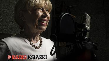 Zuzanna Łapicka w Radiu Książki