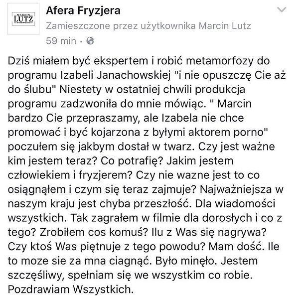 Wpis Marcina Szymańskiego