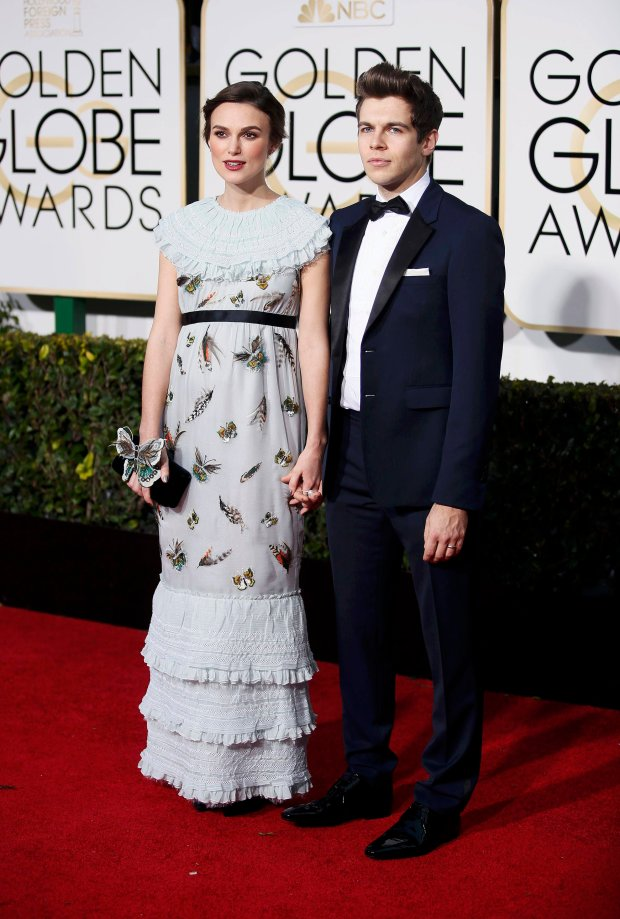 Keira Knightley i James Righton