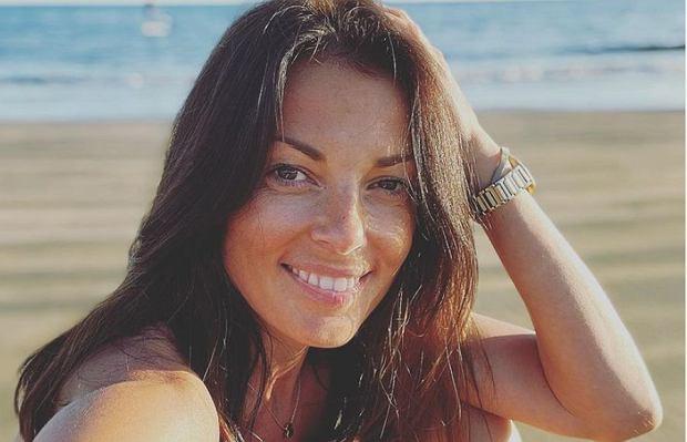 """Katarzyna Glinka pochwaliła się zgrabną sylwetką. """"Przez chwilę nie być mamą"""""""