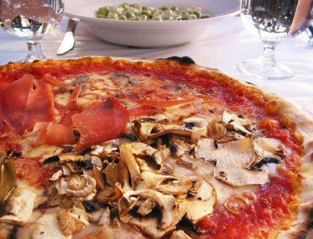 Pizza w Rzymie, Włochy