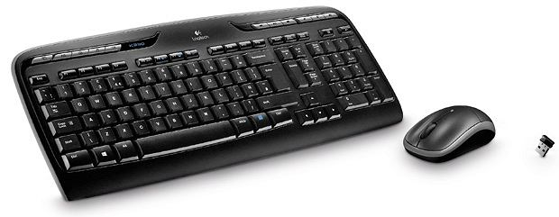 laptopy, komputery, tablet, Poradnik: jak wybrać komputer do domu, Bezprzewodowe myszka i klawiatura Logitech MK330 Cena: 130 zł, logitech