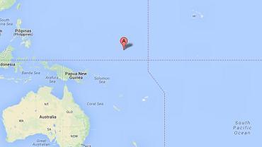Atol Ebon na Wyspach Marshalla, na którym odnalazł się rozbitek z Meksyku