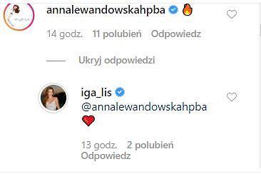 Komentarz Anny Lewandowskiej