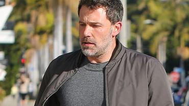 Ben Affleck opowiedział o alkoholizmie i rozstaniu z Jennifer Garner. Pił, żeby nie czuć bólu.