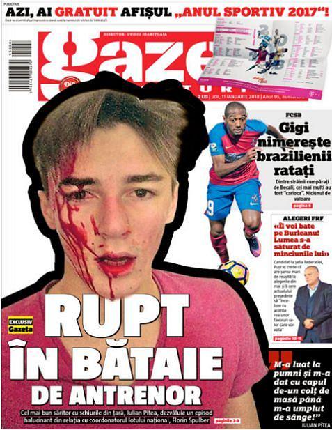 'Gazeta Sportuliror', screen