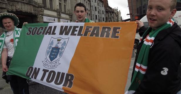 Najlepsze transparenty reprezentacji Irlandii