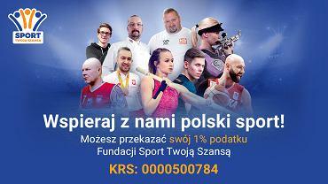 Wspieraj polski sport razem z Fundacją Sport Twoją Szansą