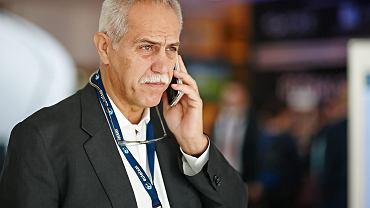Zygmunt Solorz-Żak podczas Międzynarodowej Konferencji i Wystawy PIKE w 2014 r.