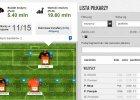 Statystyki Wygraj Ligę po 11 kolejkach Ekstraklasy