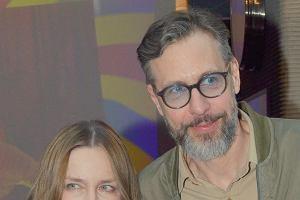 Szymon Majewski z żoną