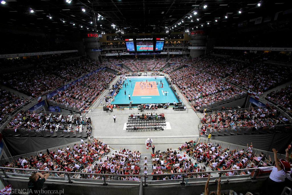 Ergo Arena podczas meczu Ligi Światowej