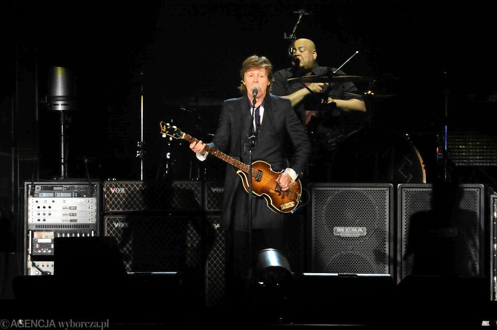 Koncert Paula McCartneya w Warszawie
