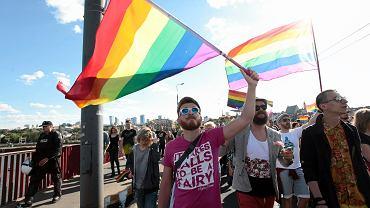 Szesnasta Parada Równości pod hasłem 'Równe prawa, wspólna sprawa'