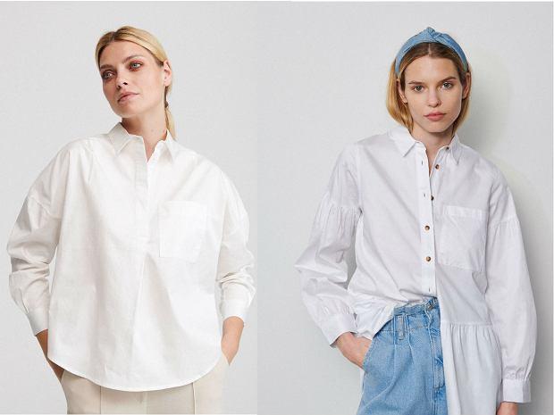 biała koszula damska stylizacje