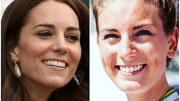 Kate Middleton i jej sobowtór