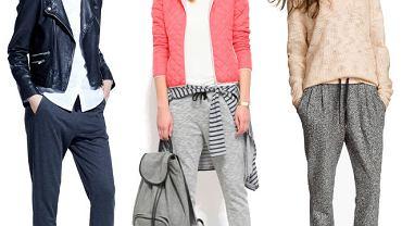 Dresowe spodnie z wiosennych kolekcji