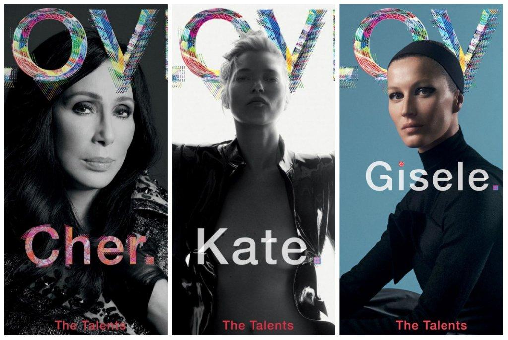 Kate Moss i inne gwiazdy dla LOVE Magazine jesień 2015