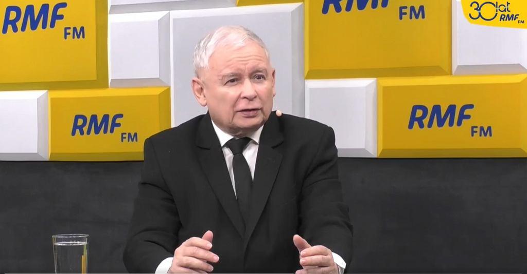 Jarosław Kaczyński w RMF FM