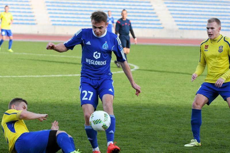 Kamil Mazek w cypryjskim sparingu z Atlantasem Kłajpeda