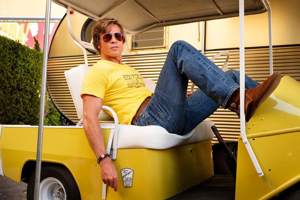 'Pewnego razu... w Hollywood'. Brad Pitt
