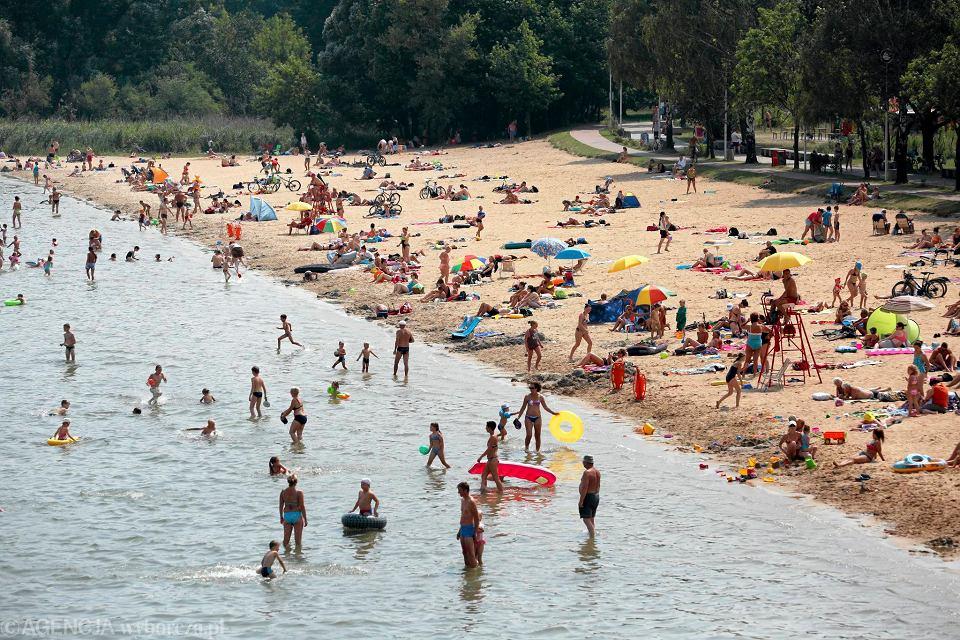 Żółty czepek uprawniał m.in. do wypływania poza granice wyznaczonego kąpieliska