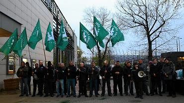 Protest ONR pod Teatrem Powszechnym