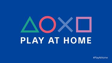 Akcja 'Graj w domu' od PlayStation