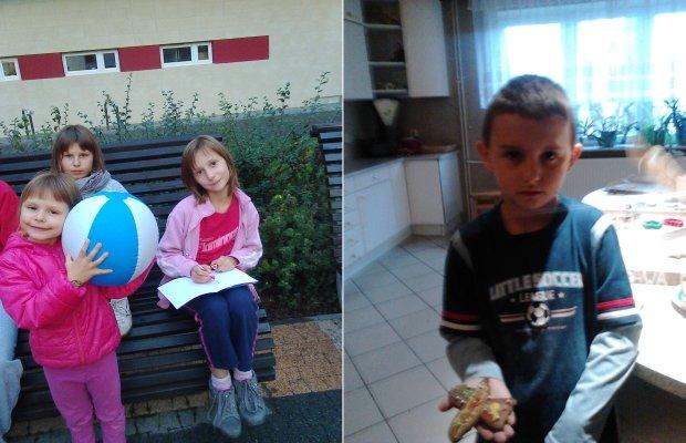 Siostry i Mariusz