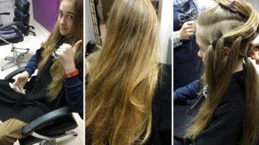 Michał, który zapuścił włosy na peruki dla dzieci po chemio i radioterapii