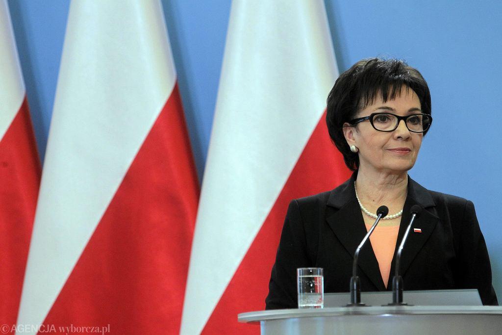 Elżbieta Witek nowym szefem MSWiA.