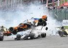 System Halo uchronił Leclerca podczas kolizji z Alonso w GP Belgii