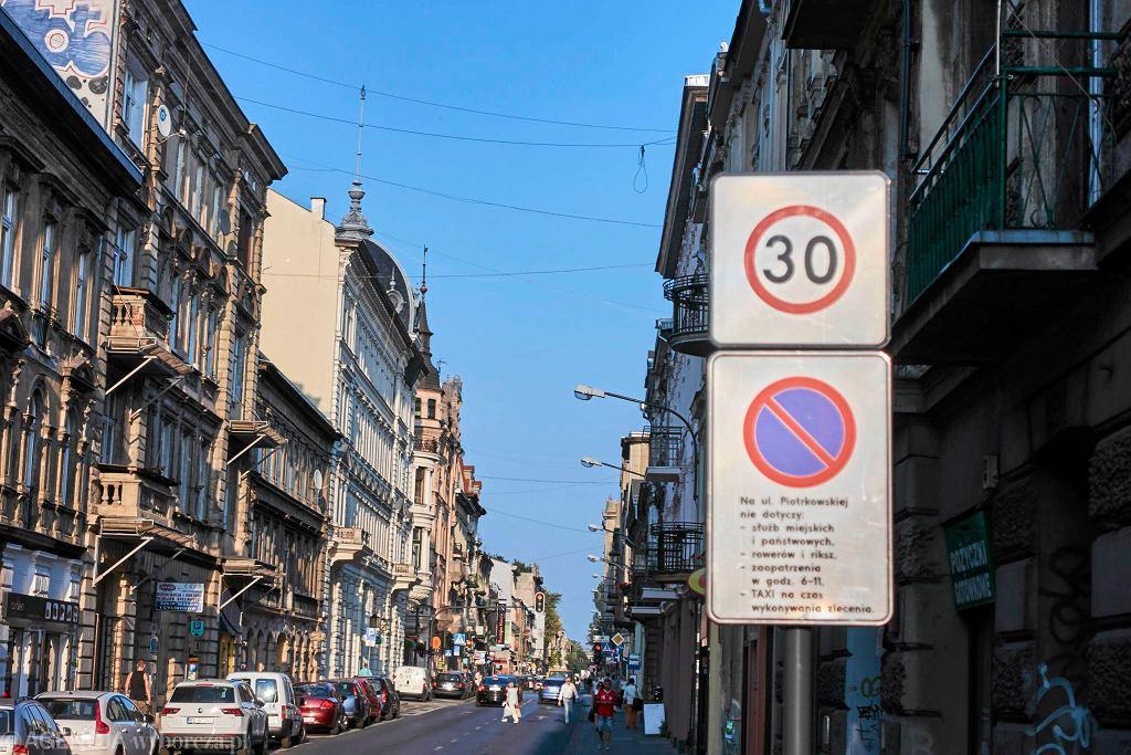 Ograniczenie prędkości do 30 km/h w centrum Łodzi