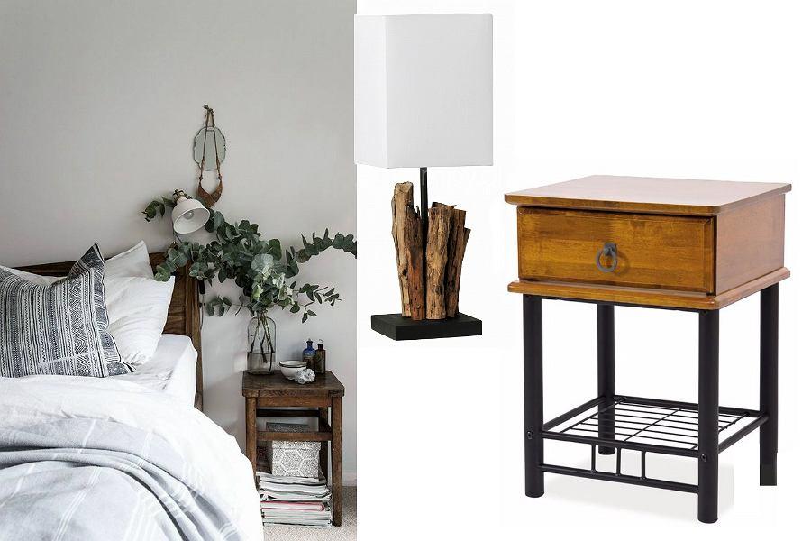 drewniane dodatki do sypialni