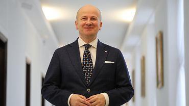 Poseł PiS Bartłomiej Wróblewski, kandydat na stanowisko Rzecznika Praw Obywatelskich