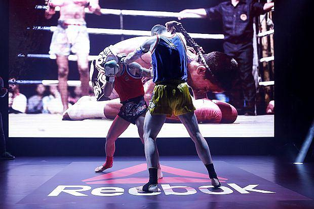 Pokaz boksu tajskiego