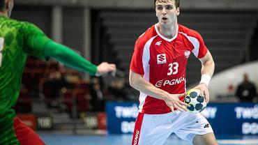 Paweł Paczkowski podczas meczu Polska - Białoruś