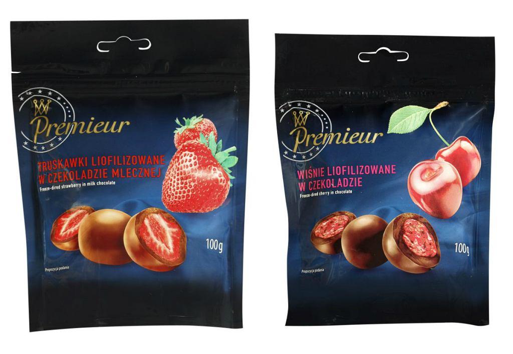 Wykwintne wiśnie i truskawki w czekoladzie z linii Premieur