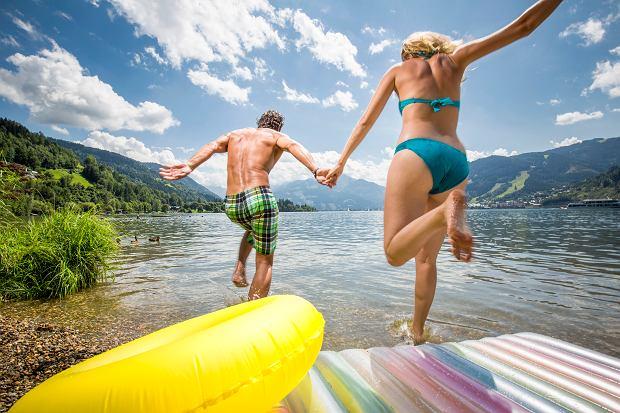 Den Zeller See genießen_Enjoying the lake Zell_