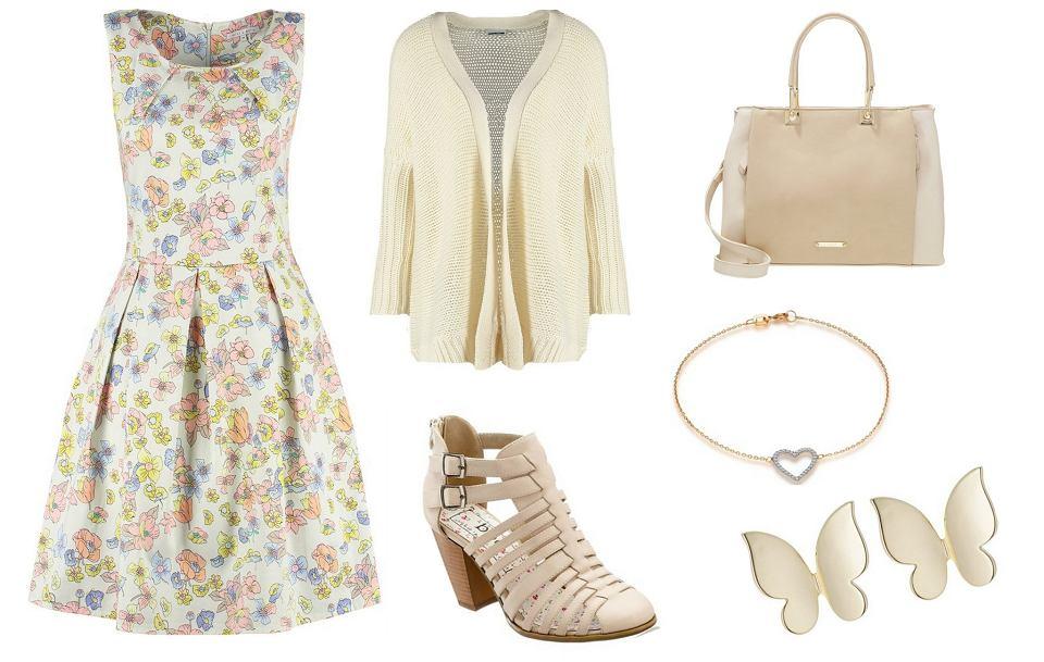 Stylizacje z wiosennymi butami