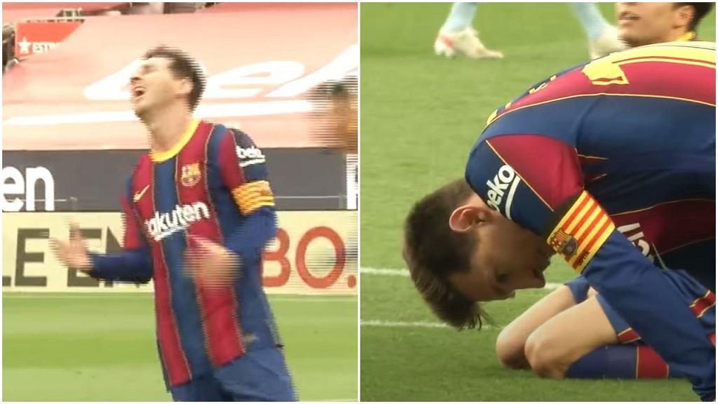 Lionel Messi w trakcie meczu z Celtą Vigo