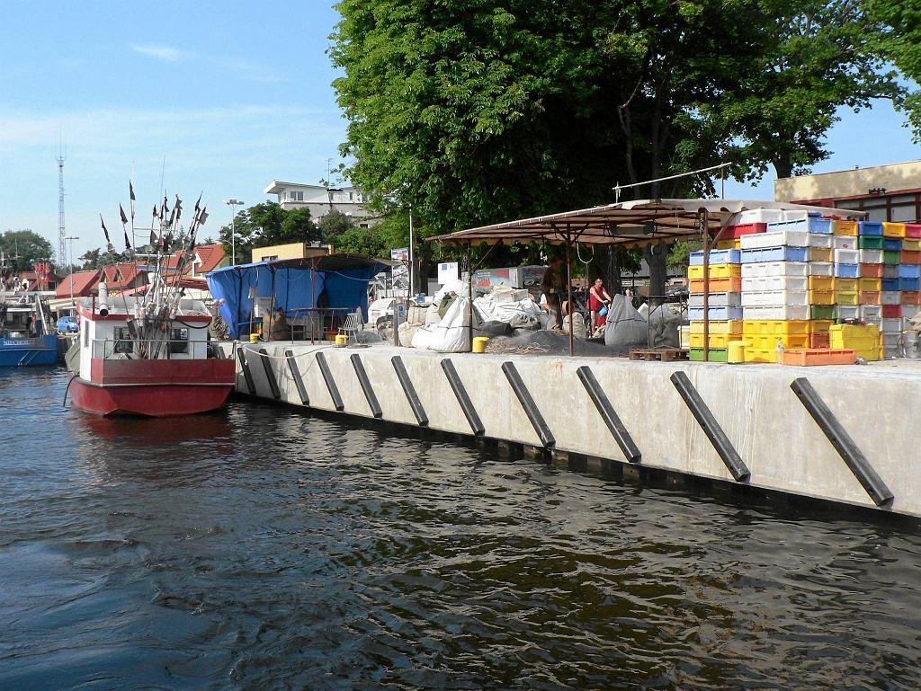 Nowy port rybacki w Mrzeżynie