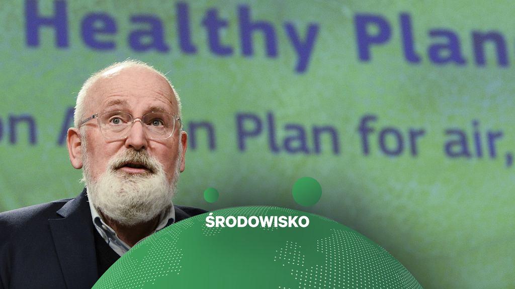Frans Timmermans, Wiceprzewodniczący Komisji Europejskiej ds. Europejskiego Zielonego Ładu