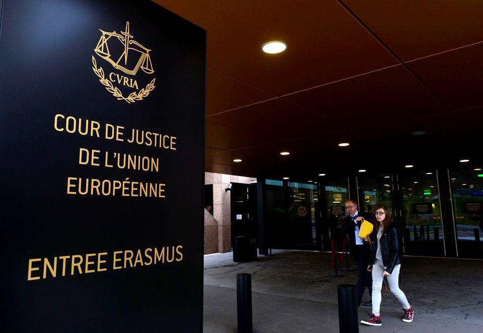 Siedziba Trybunału Sprawiedliwości Unii Europejskiej w Luksemburgu.