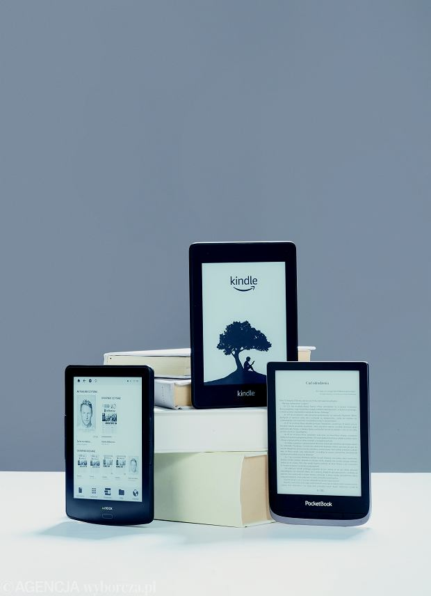Inkbook Prime HD, Kindle Paperwhite 4 i Pocketbook Touch HD 3